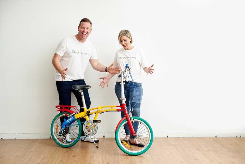 Google Ads Google Bike